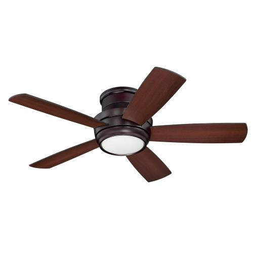 Craftmade Lighting TMPH44-5 Tempo Hugger - 44 Inch Ceiling Fan with Light Kit