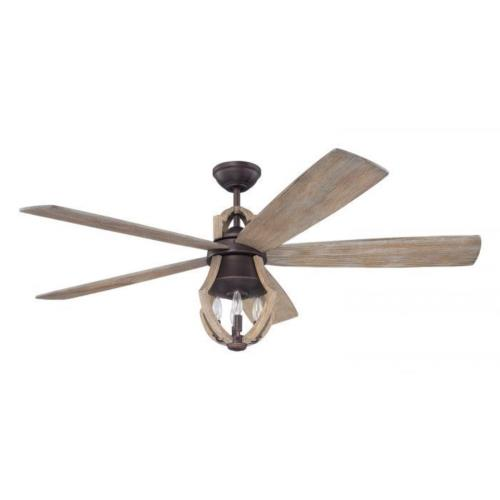 Craftmade Lighting WIN56ABZWP5 Winton - Ceiling Fan in Transitional Style - 56 inches wide by 22.57 inches high