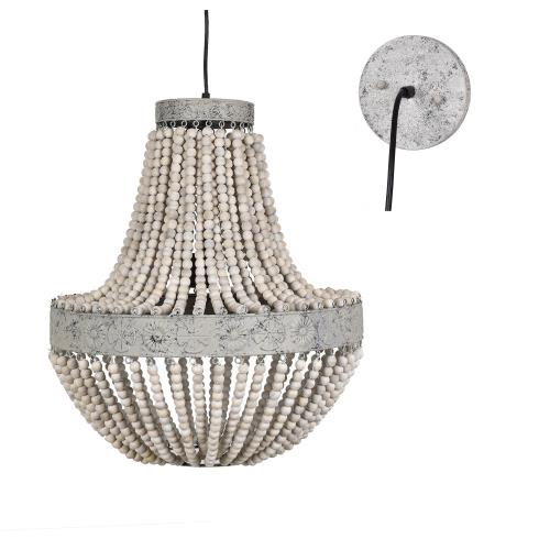 Crestview CVAVP996 Andrea - Three Light Chandelier
