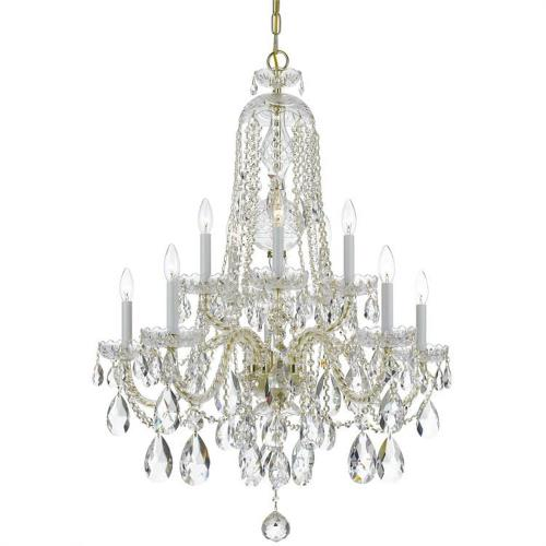 Crystorama Lighting 1110 Traditional Crystal - Five Light Chandelier