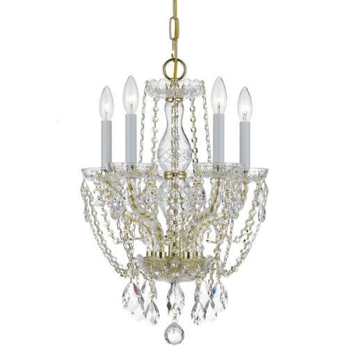 Crystorama Lighting 1129 Traditional Crystal - Five Light Chandelier