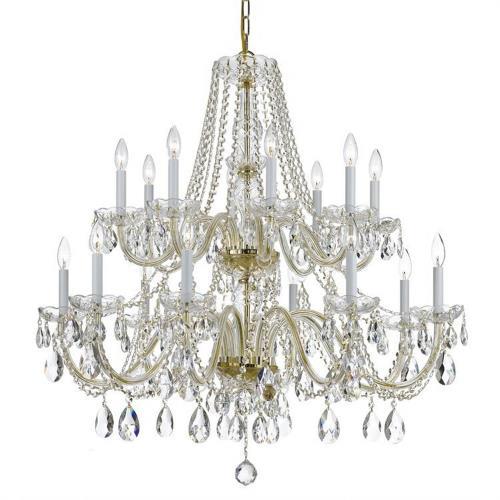 Crystorama Lighting 1139 Traditional Crystal - Eight Light Chandelier