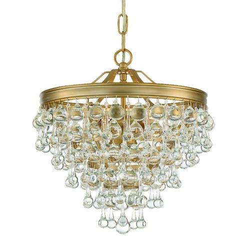 Crystorama Lighting 130 Calypso - Three Light Pendant