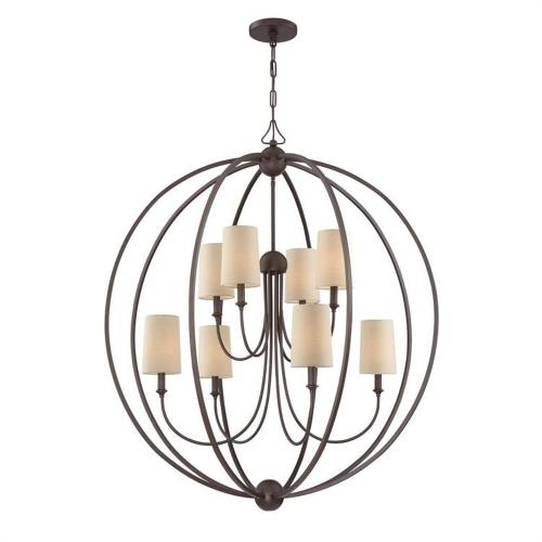 Crystorama Lighting 2246 Sylvan - Eight Light 2-Tier Chandelier