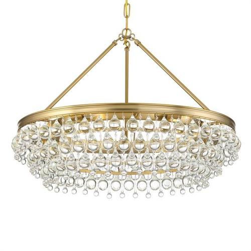 Crystorama Lighting 275 Calypso - Six Light Chandelier
