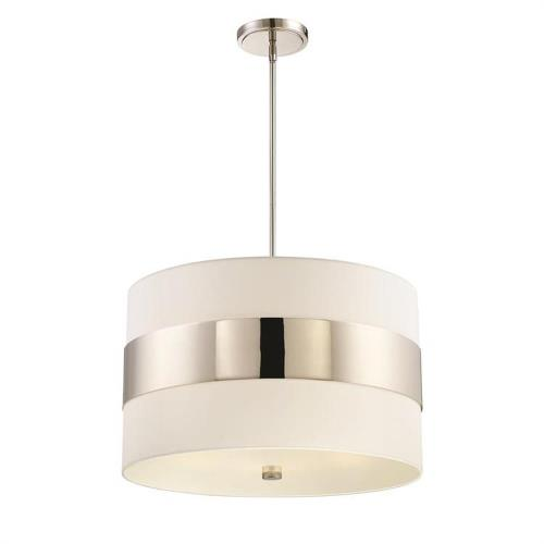 Crystorama Lighting 297 Grayson - Five Light Pendant in classic, elegant, and casual Style - 23 Inches Wide by 14 Inches High