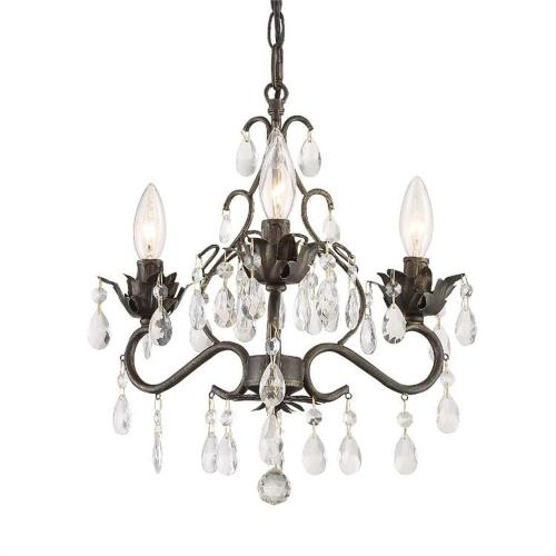 Crystorama Lighting 4534 Paris Market - 3 Light Mini Chandelier