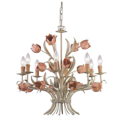 Crystorama Lighting 4808 Southport - Eight Light Chandelier