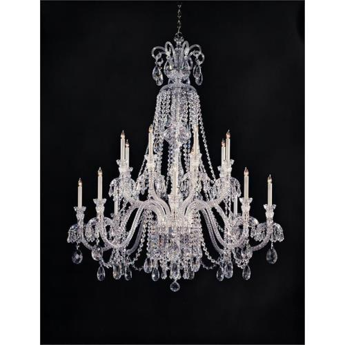 Crystorama Lighting 5028 Traditional Crystal - Eight Light Chandelier