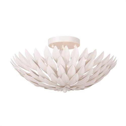 Crystorama Lighting 505-MT Broche - Four Light Flush Mount