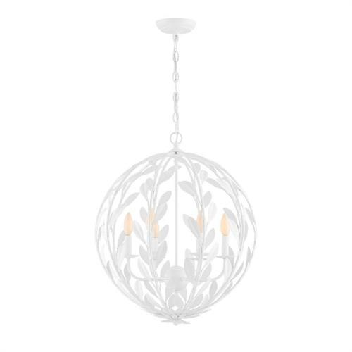 Crystorama Lighting 506 Broche - 6 Light Chandelier