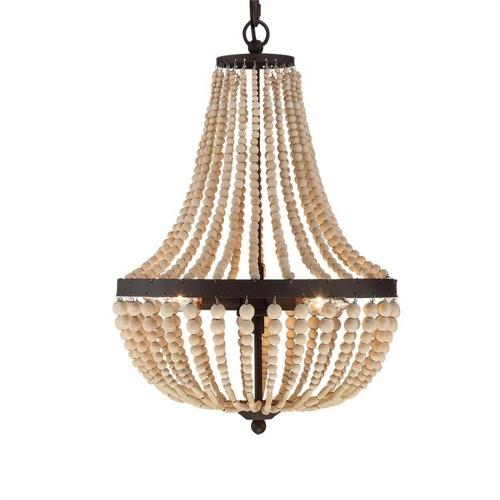 Crystorama Lighting 603 Rylee - 3 Light Chandelier in classic, elegant, and casual  Style - 14 Inches Wide by 19 Inches High