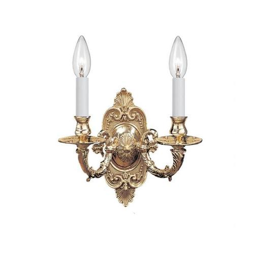Crystorama Lighting 642 Arlington - Two Light Wall Sconce