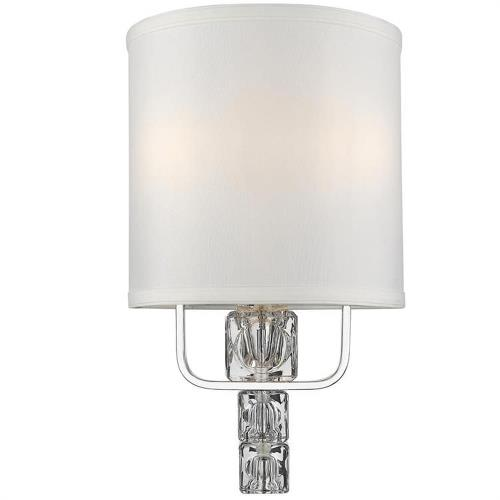 Crystorama Lighting 6832-CH Addison - Two Light Wall Sconce
