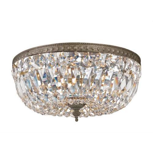 Crystorama Lighting 714 3 Light Flush Mount