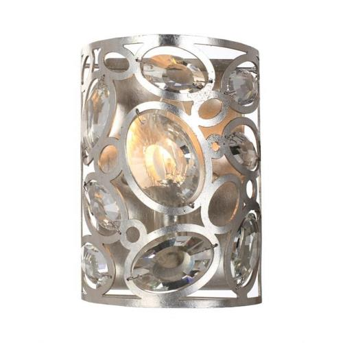 Crystorama Lighting 7581-DT Sterling - One Light Wall Sconce