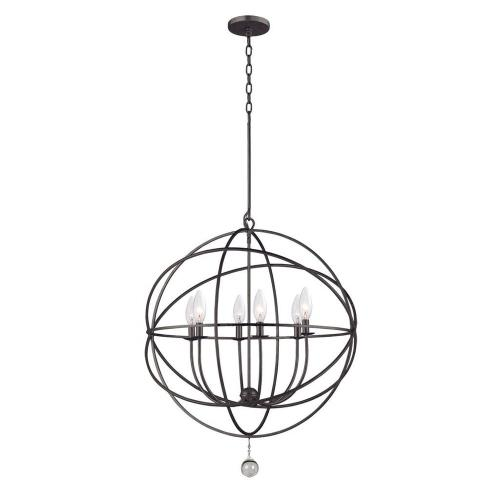 Crystorama Lighting 9228 Solaris - Six Light Chandelier