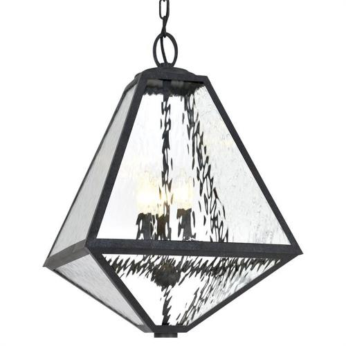 Crystorama Lighting GLA-9705 Glacier - Three Light Outdoor Chandelier