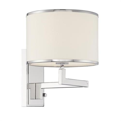 Crystorama Lighting MAD-B4101 Madison - 1 Light Task Light in classic, elegant, and casual Style - 10 Inches Wide by 13 Inches High