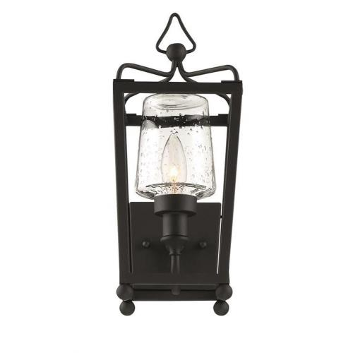 "Crystorama Lighting SYL-2211 Sylvan - 6"" One Light Outdoor Wall Mount"