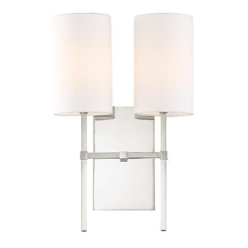 Crystorama Lighting VER-242 Veronica - Two Light Wall Sconce
