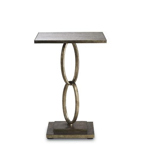 Currey and Company 4096 Bangle - 18 Inch Accent Table