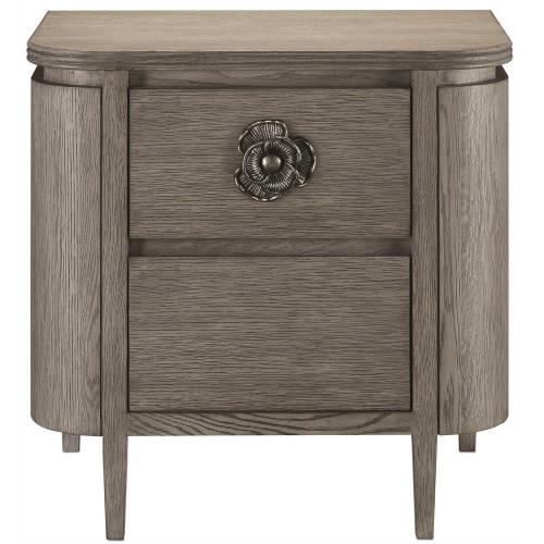 Currey and Company 300B Briallen - 28 Inch Nightstand