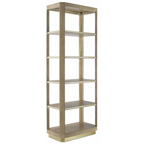 Currey and Company 3000-0155 Bali - 81 Inch Small Etagere