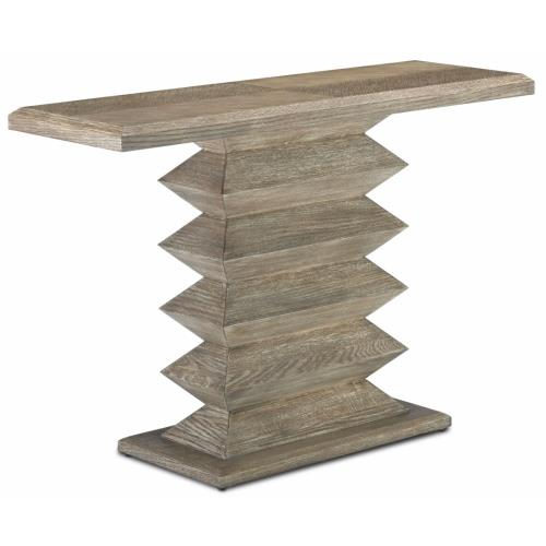 Currey and Company 3000-0159 Sayan Pepper - 48 Inch Console Table
