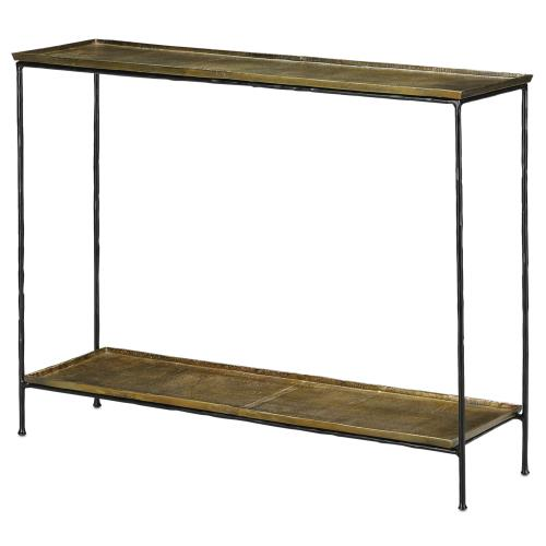 "Currey and Company 4000-0023 Boyles - 42"" Console Table"