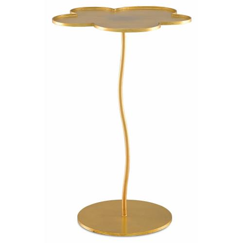 Currey and Company 4000-0068 Fleur - 24 Inch Large Accent Table