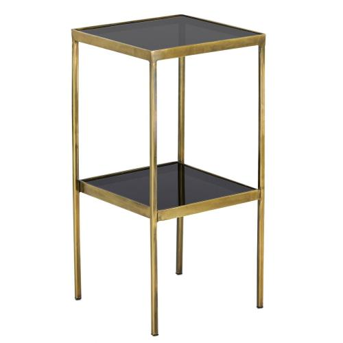 Currey and Company 4000-0082 Silas - 25 Inch Accent Table