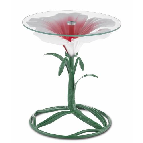 Currey and Company 4000-0113 Hibiscus - 18 Inch Accent Table