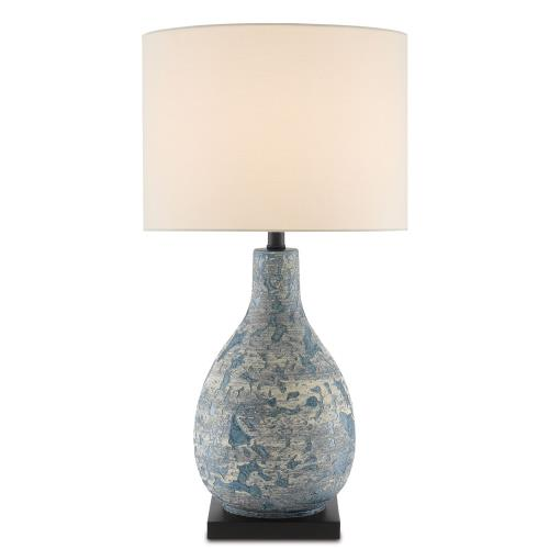 Currey and Company 6000-0674 Ostracon - 1 Light Table Lamp