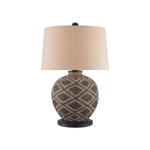 Currey and Company 6990 Afrikan - 1 Light Table Lamp