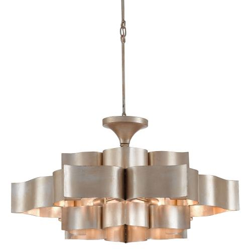 Currey and Company 949L Grand Lotus - 6 Light Large Chandelier