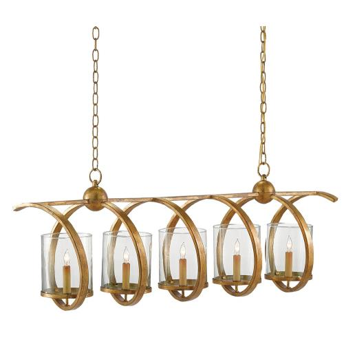 Currey and Company 991X Maximus - 5 Light Chandelier
