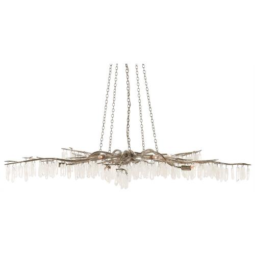 Currey and Company 9000-0-10C Forest Light - 10 Light Chandelier
