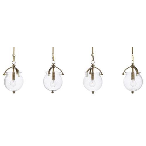 Currey and Company 9000-0487 Peele - 4 Light Pendant
