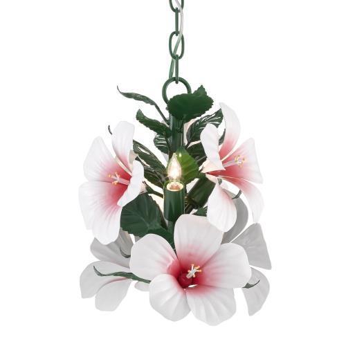 Currey and Company 9000-0657 Hibiscus - 3 Light Petite Chandelier