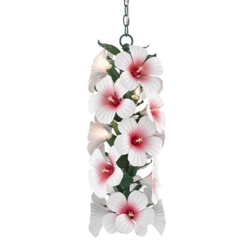 Currey and Company 9000-0658 Hibiscus - 7 Light Pendant
