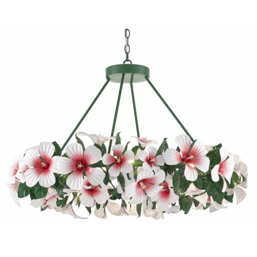 Currey and Company 9000-0659 Hibiscus - 20 Light Chandelier