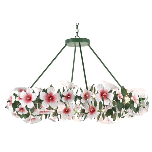 Currey and Company 9000-0660 Hibiscus - 24 Light Large Chandelier