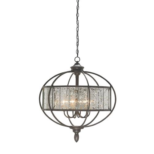 Currey and Company 933SF Florence - 6 Light Chandelier