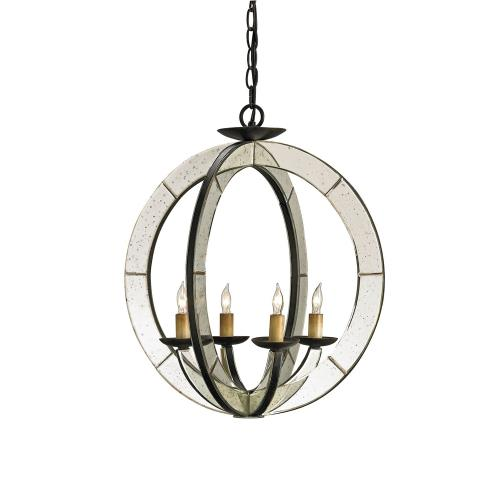 Currey and Company 9400 Meridian - 4 Light Chandelier