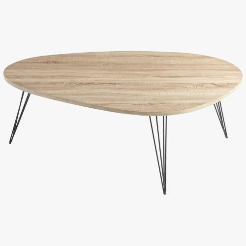 Cyan lighting 06355 Lunar Landing - 44 Inch Coffee Table