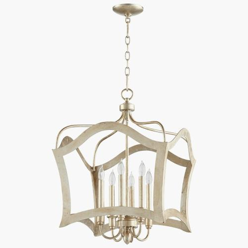 Cyan lighting 0658-6 Milan - Six Light Pendant - 19.75 Inches Wide by 28.5 Inches High