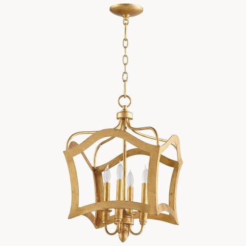 Cyan lighting 0658-4 Milan - Four Light Pendant - 15 Inches Wide by 25 Inches High