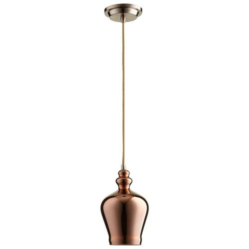 Cyan lighting 076CAL Calista - One Light Pendant - 6 Inches Wide by 10.25 Inches High