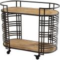 Banded About - 38 Inch Bar Cart - 844242
